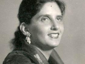 Soshana in Burma   Rangoon 1957